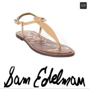 💕SALE💕 Sam Edelman Gigi Leather T Strap Sandals